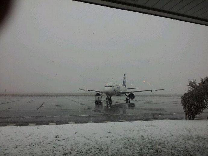 A Poretta tous les avions sont restés cloués au sol (Didier Bicchieray)