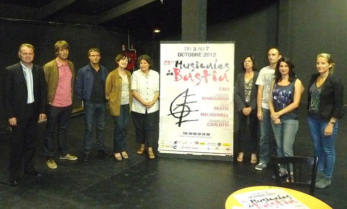 Organisateurs et partenaires plus que jamais unis pour la réussité des Musicales