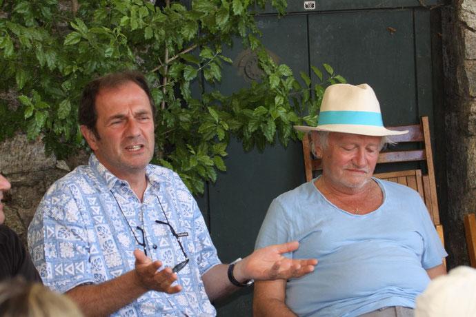 Gilles Legrand et Niels Arestup. (Photos Jean-Paul Lottier)