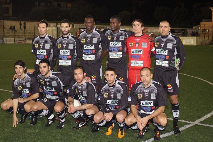 Le FC Calvi a mal débuté l'année (Photo Jean-Paul Lottier)