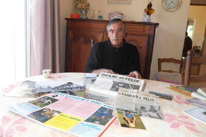 Fanfan Félix s'est replongé dans les souvenirs pour évoquer la mémoire de Jules Filippi