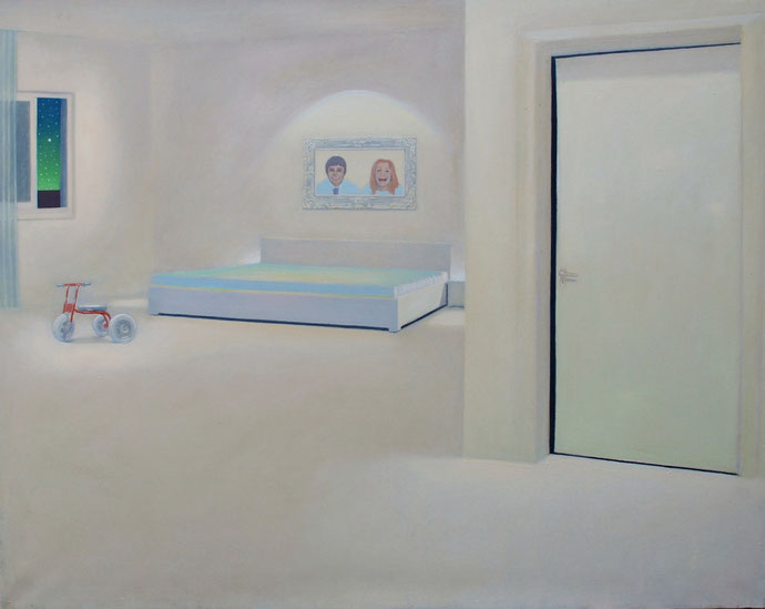 ''Empty Reality'' Oil on canvas.120x150 cm *2015