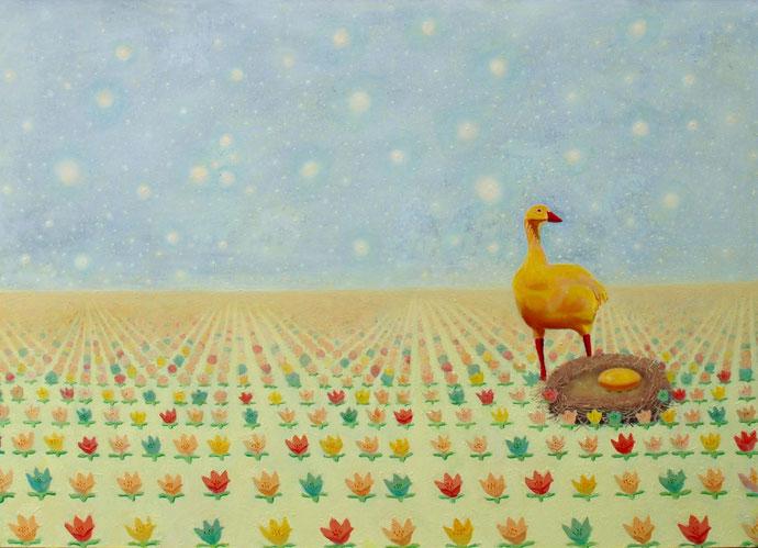 ''New Life'' Oil on canvas. 100x140 cm *2015