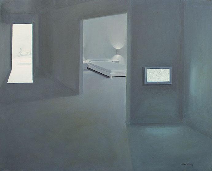 ''The Secret'' Oil on canvas. 120x150 cm