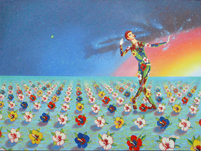 ''Kingdom of Heavens'' Oil on canvas. 120x160 cm *2019