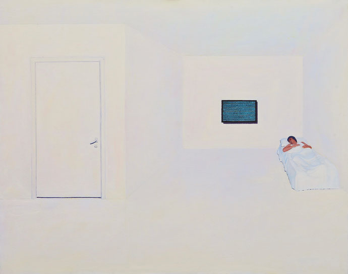 ''Without  Time'' Oil on canvas. 120x150 cm *2009
