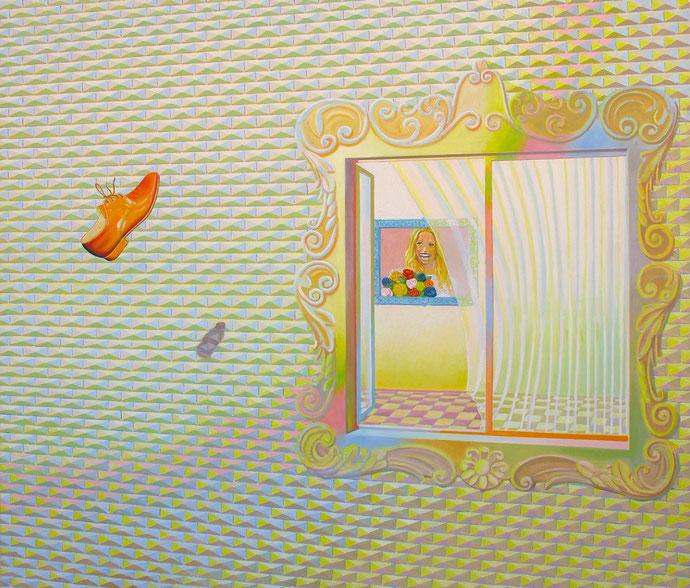 ''Empty Reality'' Oil on canvas. 120x140 cm *2017