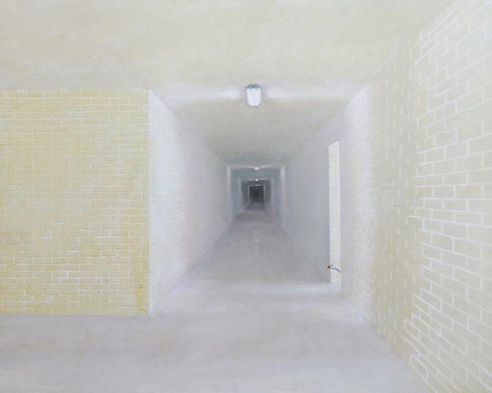 ''Silence'' Oil on canvas. 120x150 cm *2009