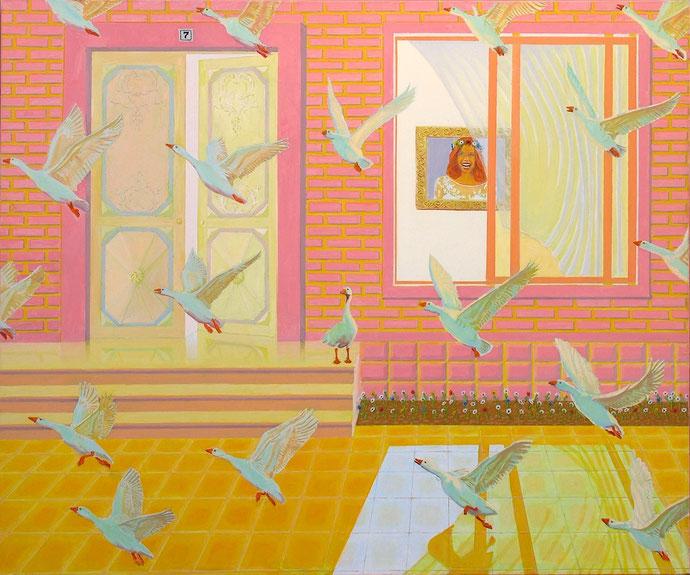 ''Hous No.7'' Oil on canvas. 100x120 cm *2016