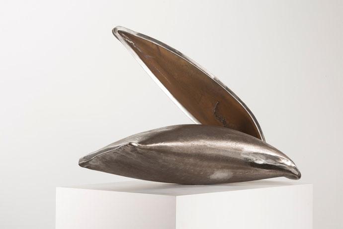 """Haptikos"" Nr.. 11-2015, 90 x 50 x 40 cm, Stahl"