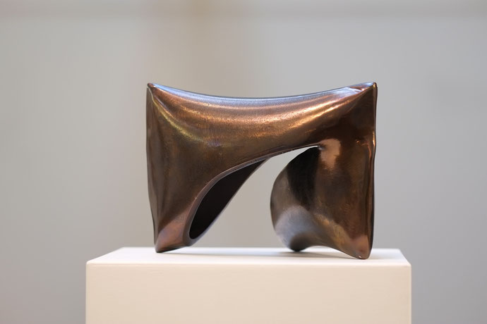 Haptikus 12-2015, 30 x 20 x 20 cm, Stahl angelassen