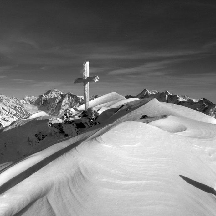 Gipfelkreuz auf dem Hockenhorn