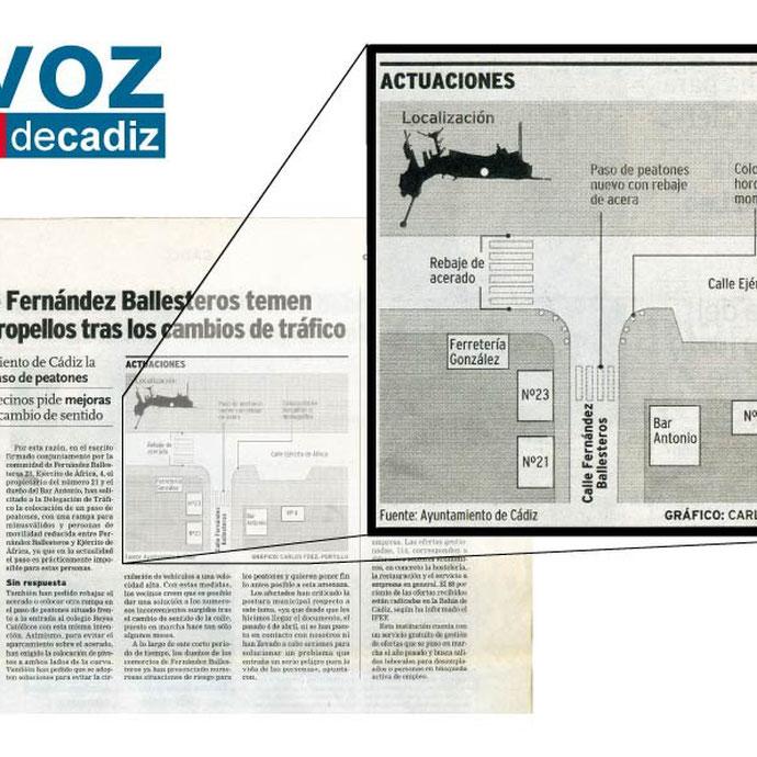 La Voz de Cádiz - Localización