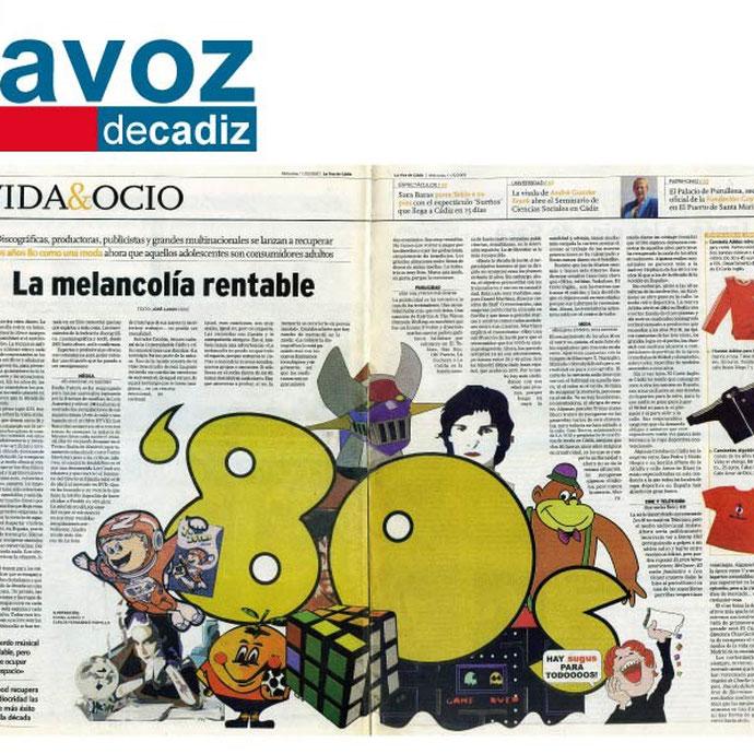 La Voz de Cádiz - Años 80