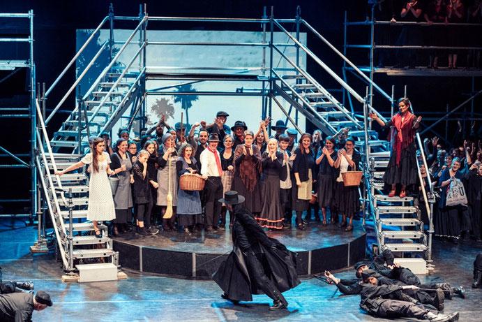 Aufführung Zorro