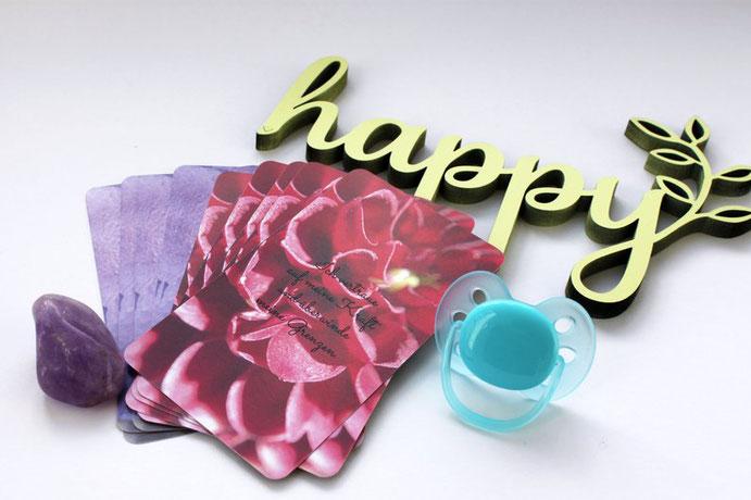 Affirmationskarten - Positive Affirmationen für deine entspannte und selbstbestimmte Geburt #Affirmationen #Geburt #Schwangerschaft