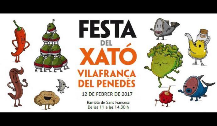 Programa de la Fiesta del Xatò en Vilafranca del Penedès