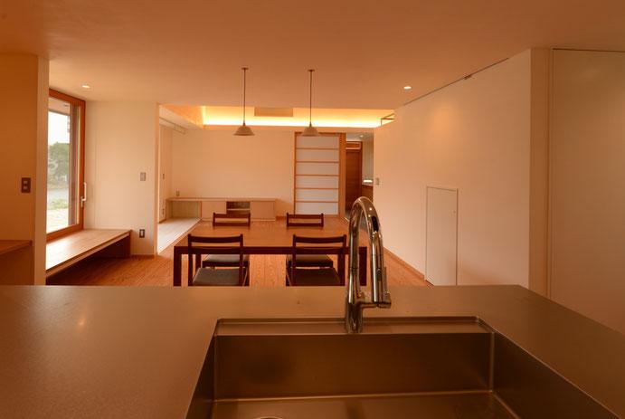 長野県 松本市 建築設計事務所 建築家 news設計室 丸山和男 住宅設計 設計監理 島内の家Ⅱ 竣工写真