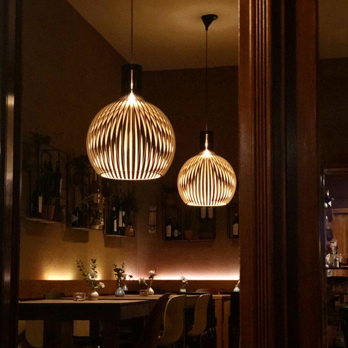 Angenehme Lichtgestaltung im Auszeit am Ostkreuz