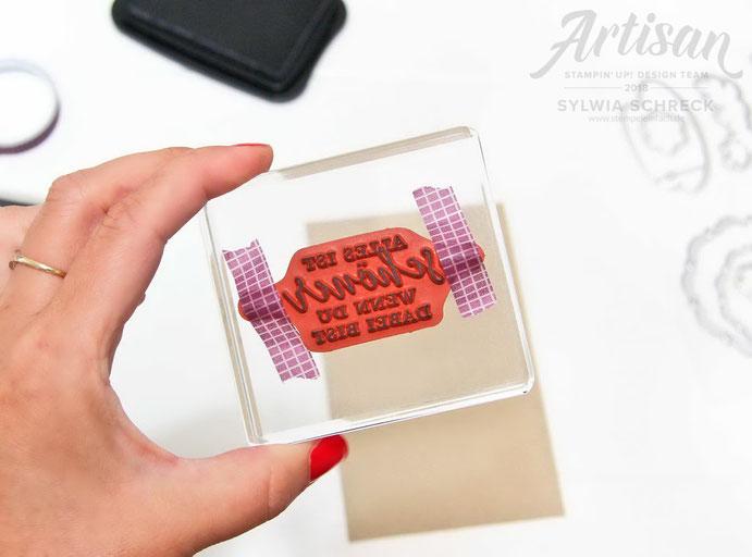 Liebevolle Details-Stampin Up