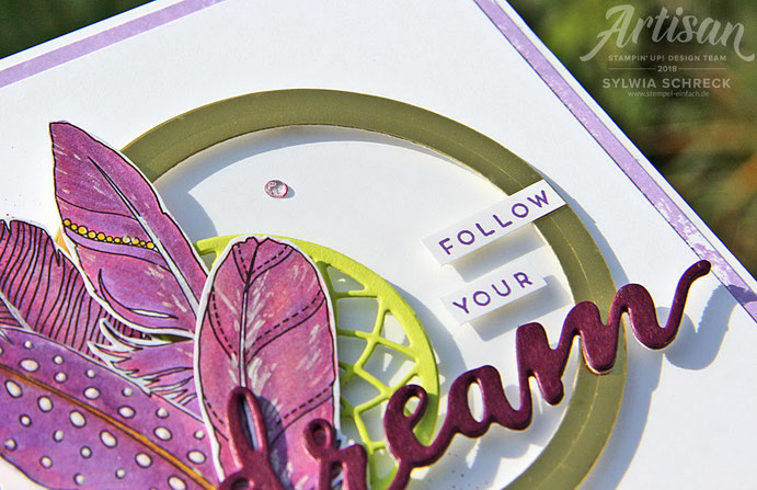 Follow Your Dreams - Stampin Up