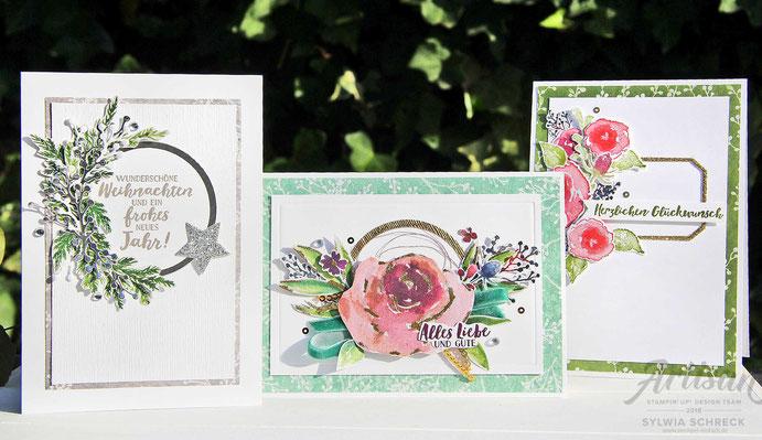 Eisblüten-Karten mit Stampin Up-Sylwia Schreck