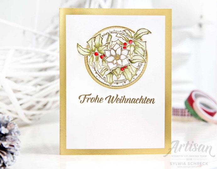 Zauber von Weihnachten - Weihnachtskarte