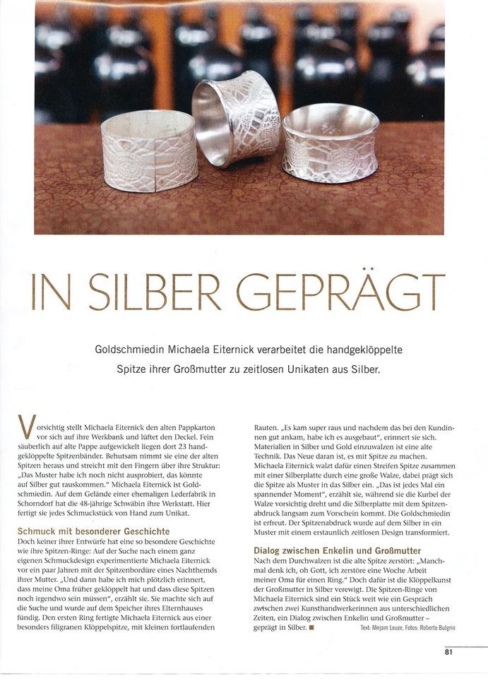 Zeitung Landlust 7/8 2012 - Spitzenringe, S.2