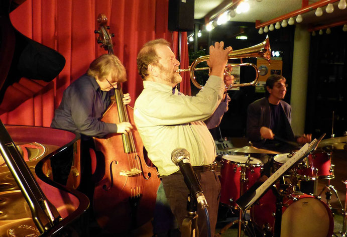 Stefan Werni, Klaus Osterloh, Peter Baumgärtner, 12.9.14, Foyer Ev. Gemeinde