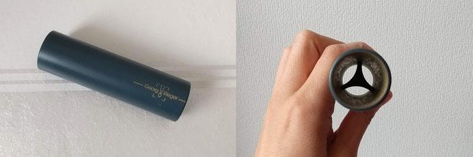 私が使っているのは、筒状で中にY字のように刃がついているもの。