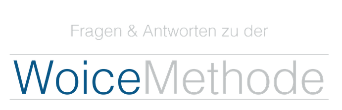 Fragen und Antworten zu der WoiceMethode von Wolfgang Wienen, eLearning, Training on the Job