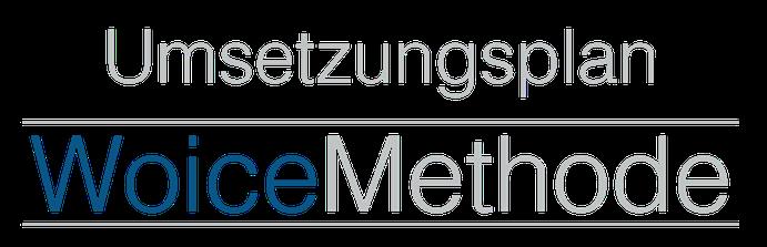 Umsetzung der WoiceMethode, eLearning, Training on the Job, Wolfgang Wienen