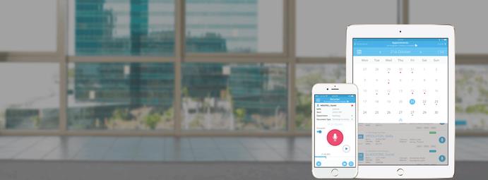 Dicteren app smartphone