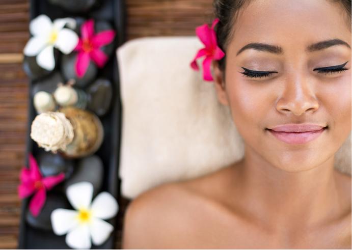 Beauty Treatment für Haut und Seele