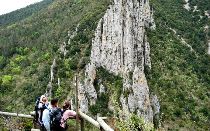 Belvédère du Diable à Belvianes - Randonnée Pyrénées Audoises