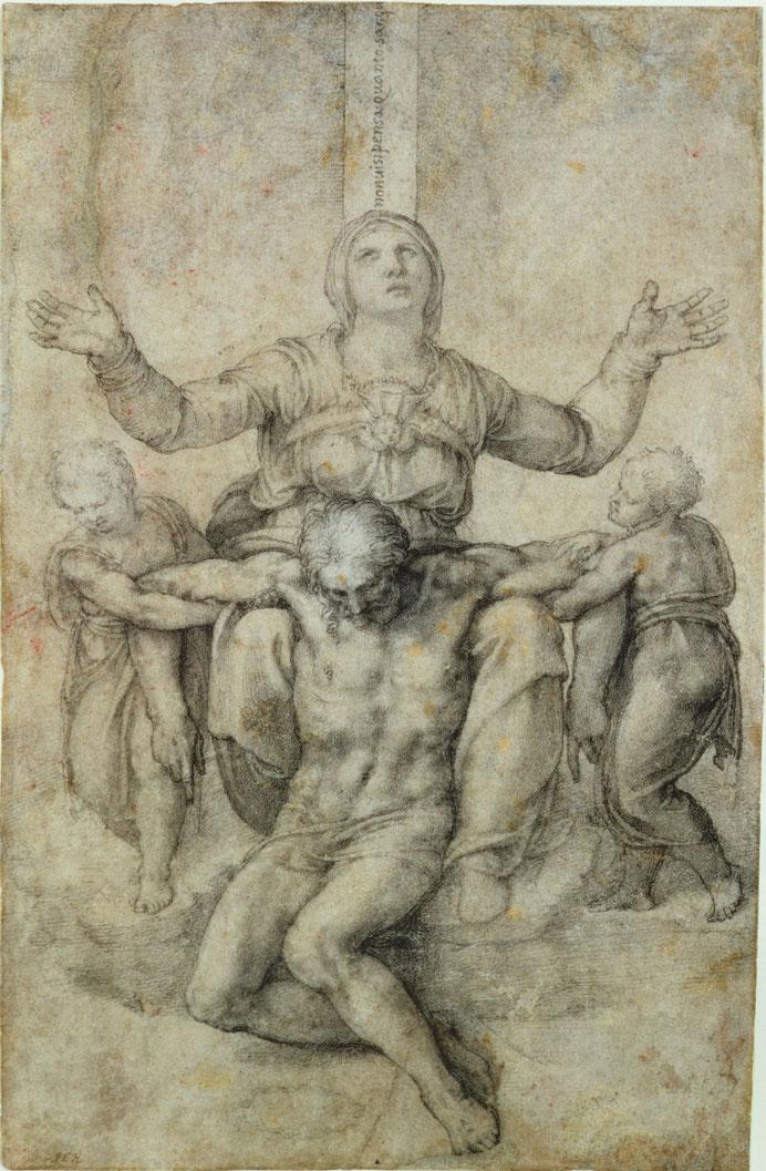 《ヴィットリア・コロンナのピエ》1540年