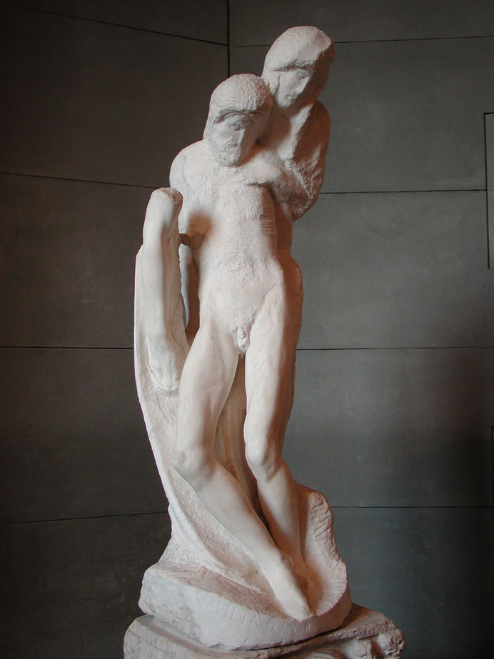 《ロンダニーニ・ピエタ》未完 1552–64年