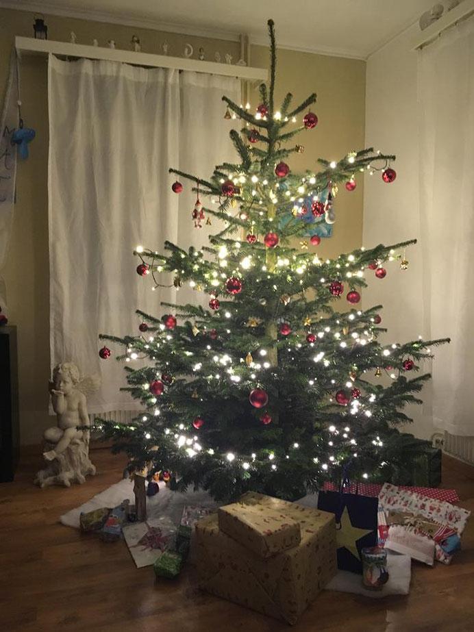Weihnachtsbaum bei der Familie Kollros in Sarnen - www.ichundmeinblog.ch - von Claudia Kollros