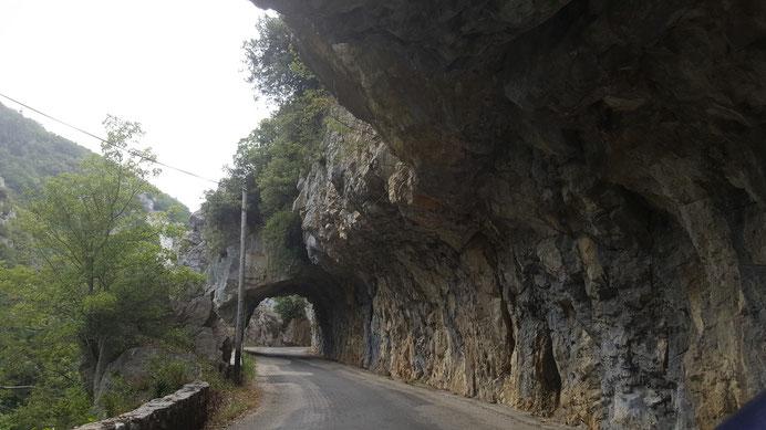 Belvédère du Diable - Gorges de la Pierre Lys - Trail Quillan