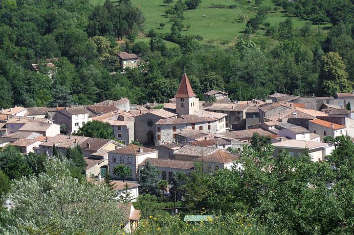 Village de Campagne sur Aude