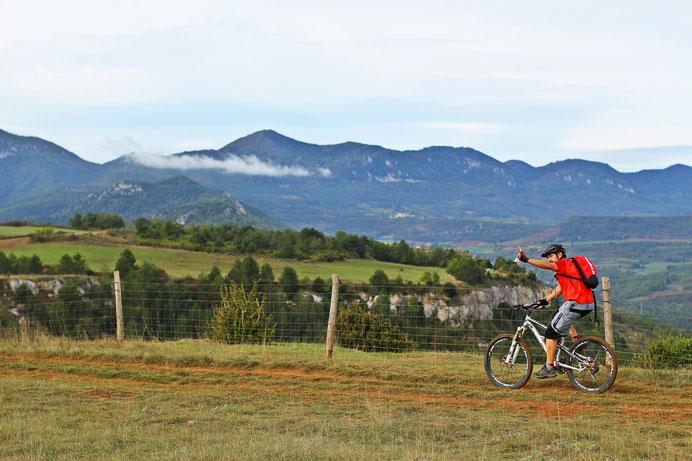 VTT en Pyrénées Audoises