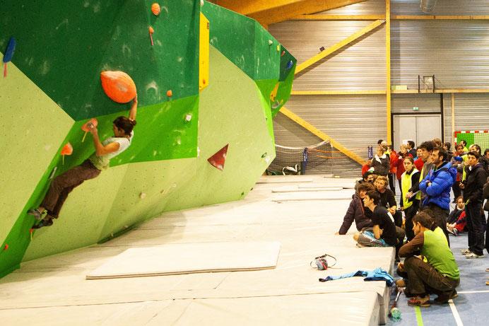 Salle d'escalade de Belcaire - Pyrénées Audoises