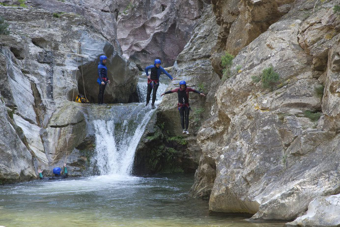Canyoning à Galamus - Pyrénées Audoises