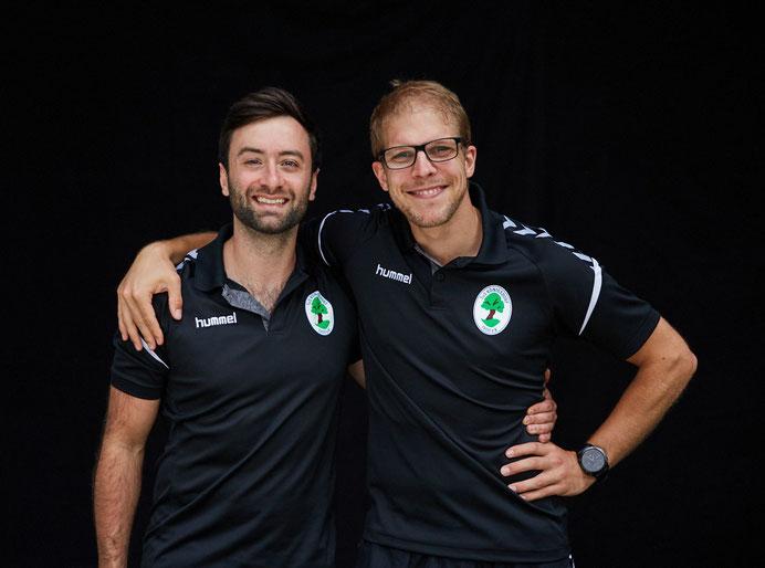"""Franziskus Bleck und Dennis Redlich bilden das Trainergespann der """"Kraniche"""""""