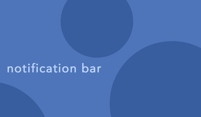 notification bar plugin