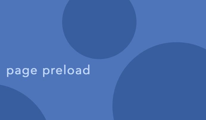 page preload