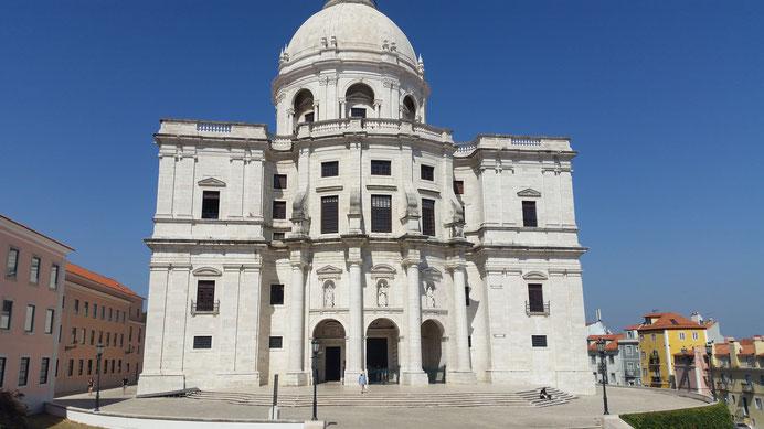 Santa Engrácia, Panteão Nacional, Alfama, Lissabon, Lisboa, Portugal