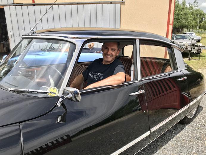 photo chauffeur ds