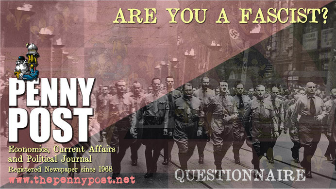 'Are you a Fascist?' questionnaire and quiz