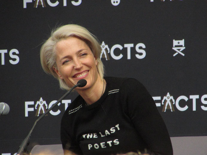 Gillian Anderson (The X Files, Sex Education) at FACTS Spring Edition 2018